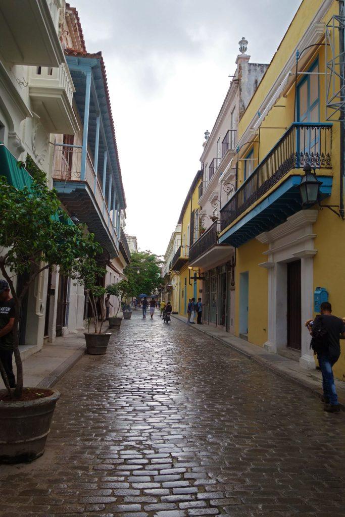 Il pleut aussi à La Havane