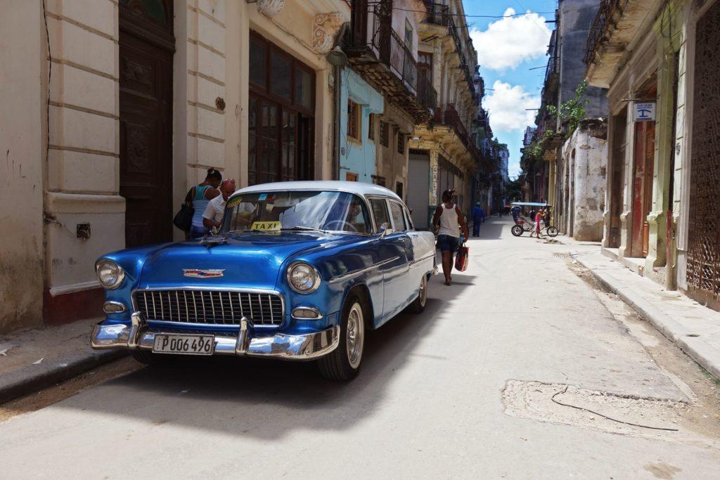 Taxi à La Havane