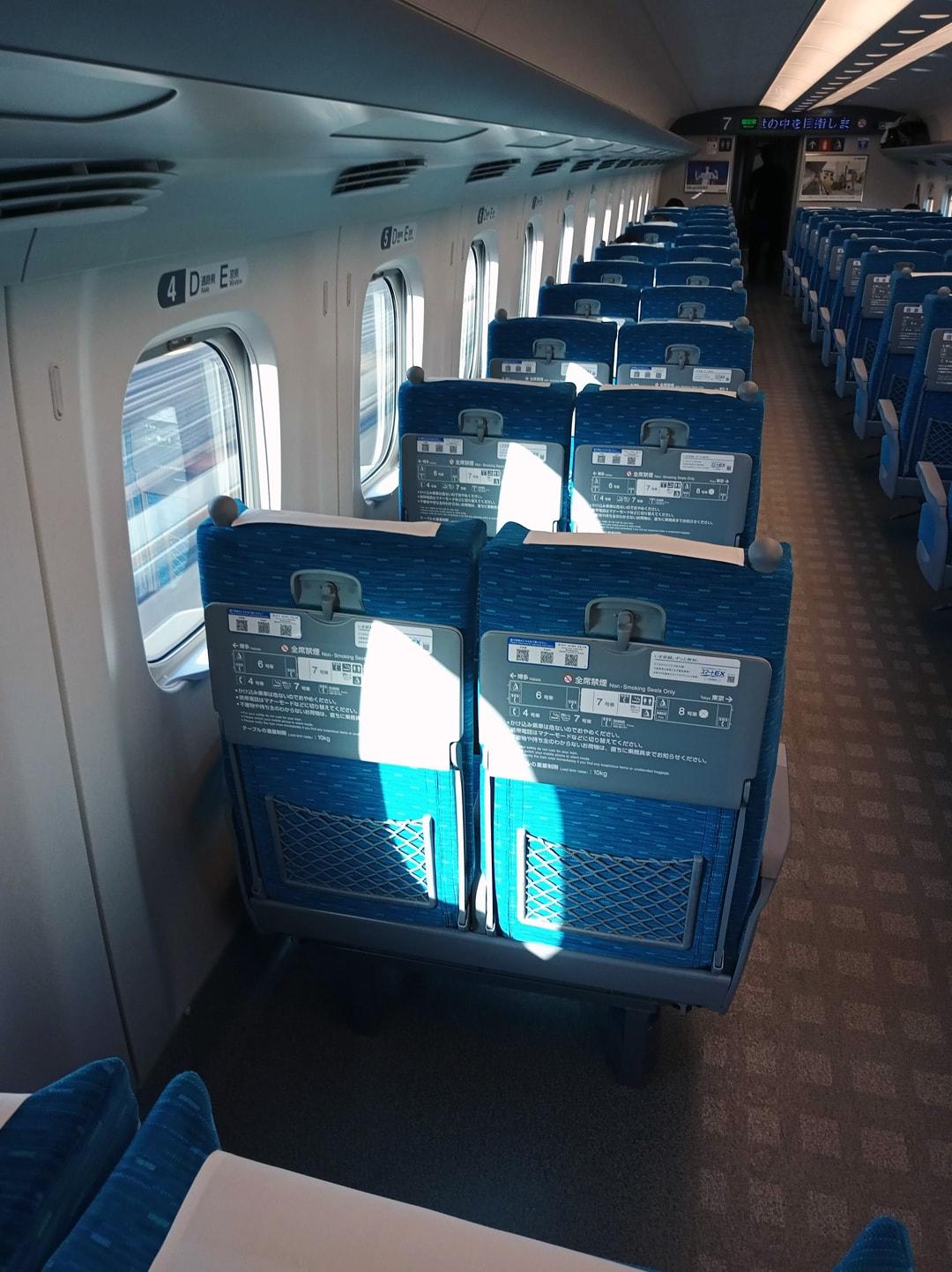 A l'intérieur du Shinkanzen